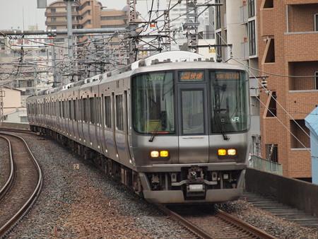 223系関空・紀州路快速 大阪環状線福島駅