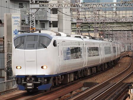 281系特急はるか 大阪環状線野田駅02