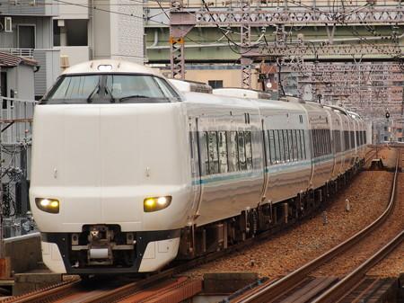 287系特急くろしお 大阪環状線野田駅02
