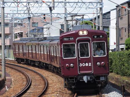 阪急3000系普通 阪急今津線仁川~甲東園01