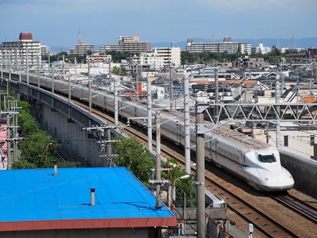 N700系のぞみ 山陽新幹線新神戸~新大阪01