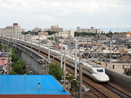 N700系のぞみ 山陽新幹線新神戸~新大阪02