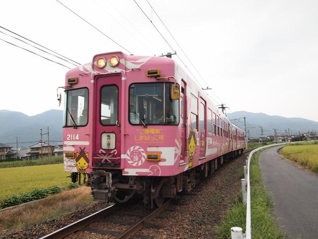 一畑電車2000系島根っこ 北松江線川跡~武志01