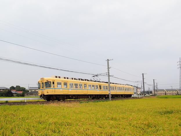 一畑電車2000系電鉄カラー北松江線川跡~武志01