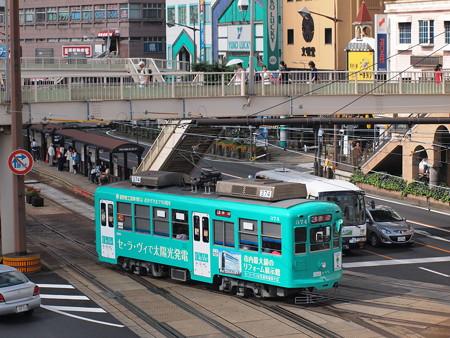 長崎電鉄370形 長崎駅前01