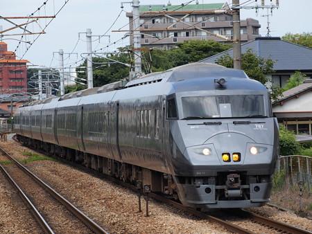 787系特急かもめ 鹿児島本線水城駅