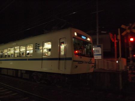 叡電700形  叡山本線茶山駅02