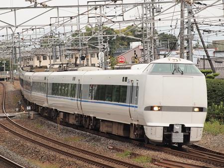 683系特急サンダーバード 東海道本線島本~山崎01