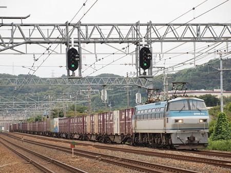 EF66貨物 東海道本線島本~山崎