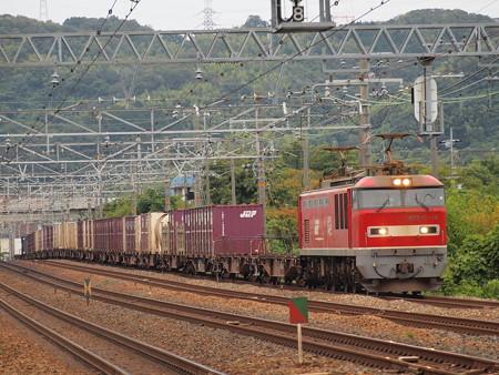 EF510貨物 東海道本線島本~山崎