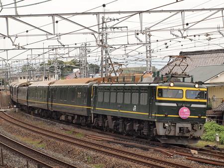 EF81 寝台特急トワイライトエクスプレス 東海道本線島本~山崎02