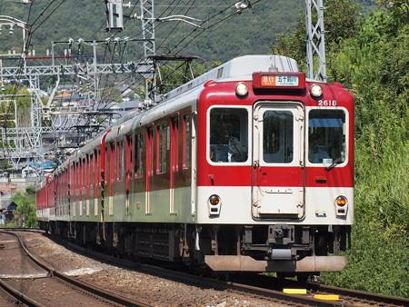 近鉄2600系急行 近鉄大阪線関屋~二上