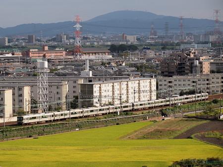 223系新快速 東海道本線高槻~島本
