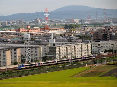HOT7000系特急スーパーはくと 東海道本線高槻~島本