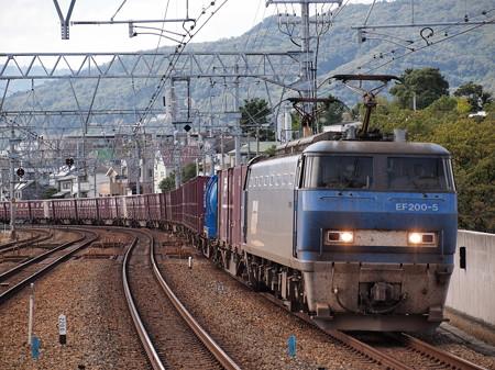 EF200貨物 東海道本線さくら夙川駅