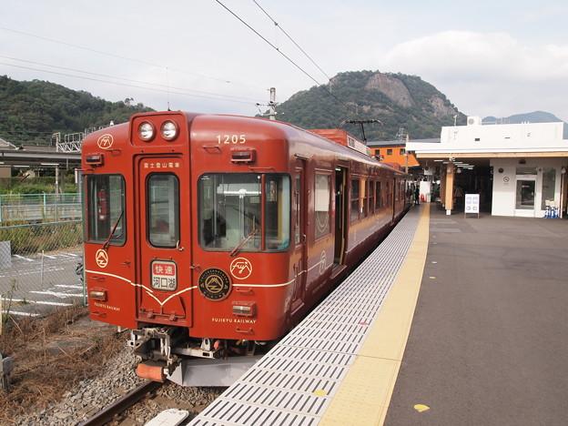 富士急1200形快速 富士急行線大月駅