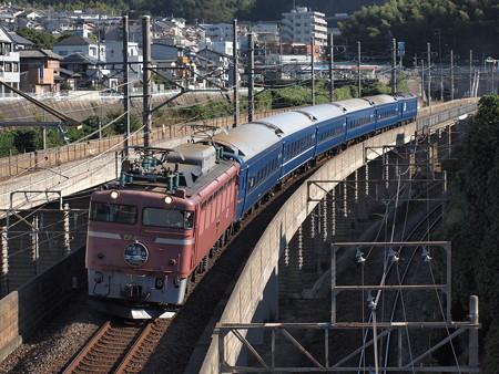 EF81 日本海縦貫線号湖西線大津京~山科02