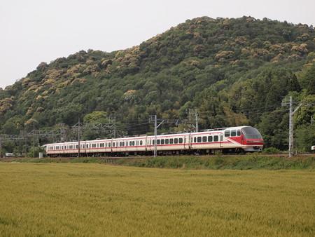 名鉄1000系特急    名古屋本線山中~藤川05