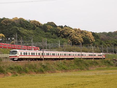 名鉄1300系特急    名古屋本線山中~藤川02