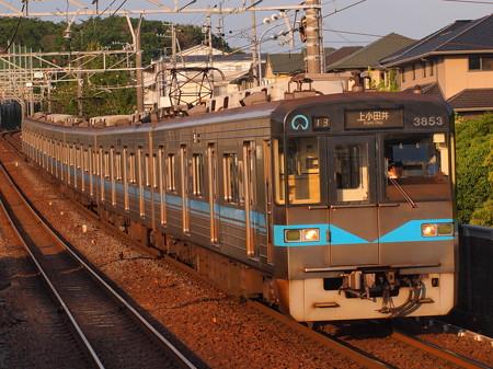 名古屋市営地下鉄3050系普通 名鉄豊田線黒笹駅