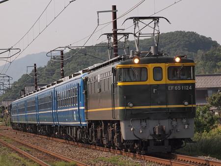 EF65 北びわこ回送 北陸本線河毛~虎姫01