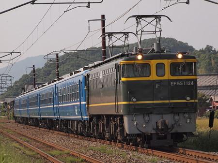 EF65 北びわこ回送 北陸本線河毛~虎姫02