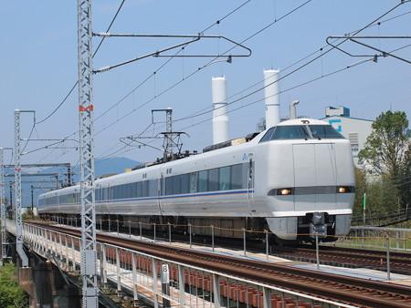 681系特急しらさぎ 北陸本線河毛~高月01