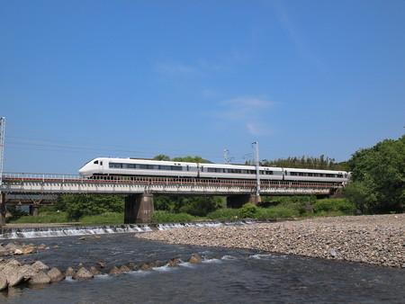 681系特急しらさぎ 北陸本線河毛~高月05