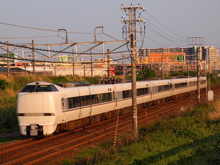 681系特急しらさぎ 東海道本線稲沢~尾張一宮01