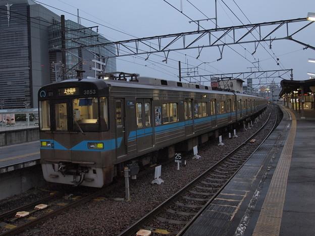 名古屋市営地下鉄3050形普通 名鉄三河線豊田市駅