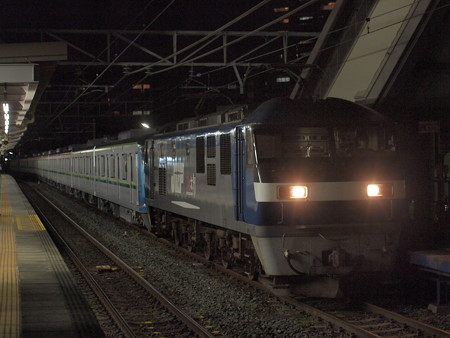 EF210 メトロ16000系甲種 東海道本線安城駅03
