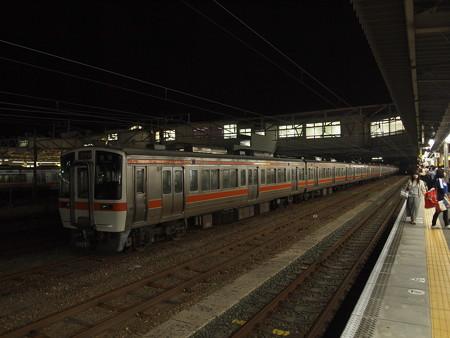 311系回送 東海道本線豊橋駅