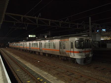 313系回送 東海道本線豊橋駅