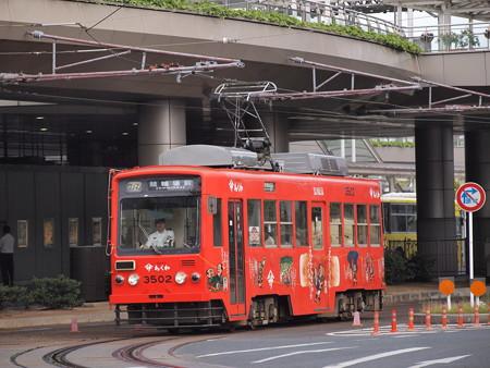 豊橋鉄道モ3500形 駅前~駅前大通05