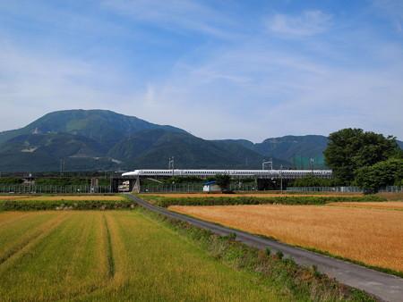 N700系のぞみ   東海道新幹線米原~岐阜羽島04