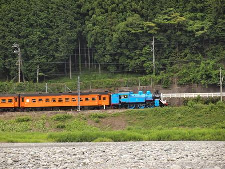C11きかんしゃトーマス号 大井川鐵道塩郷駅周辺05