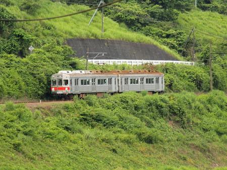 大井川鉄道7200系 大井川鐵道塩郷駅