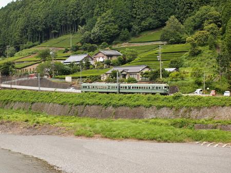 南海21000系普通 大井川鐵道塩郷駅周辺02