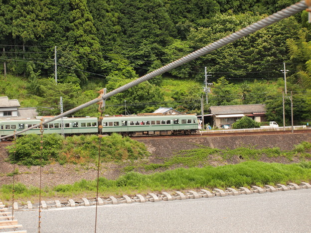 Photos: 南海21000系普通 大井川鐵道塩郷駅周辺03