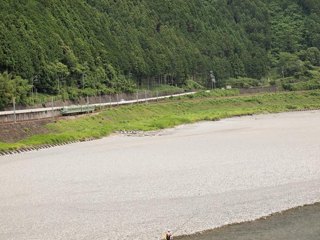 南海21000系普通 大井川鐵道塩郷駅周辺05