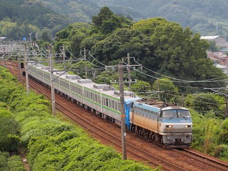 EF66 メトロ16000系甲種東海道本線金谷~島田01