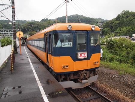 近鉄16000系急行 大井川鐵道金谷駅06