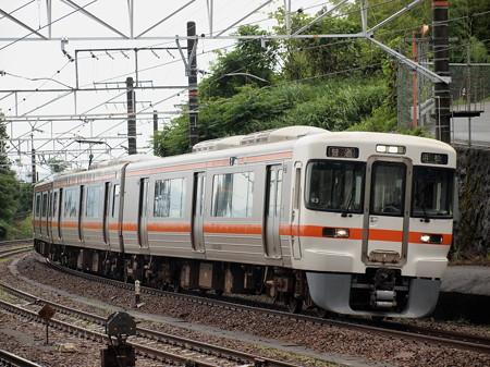 313系普通 東海道本線金谷駅02