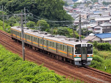 211系普通   東海道本線金谷~島田02