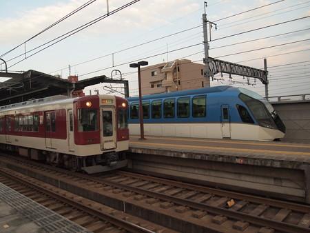 近鉄5200系急行  近鉄名古屋線八田駅03