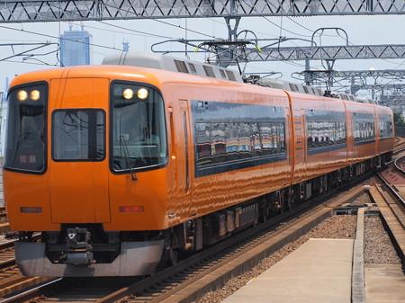 近鉄22000系名伊乙特急 近鉄名古屋線八田駅01