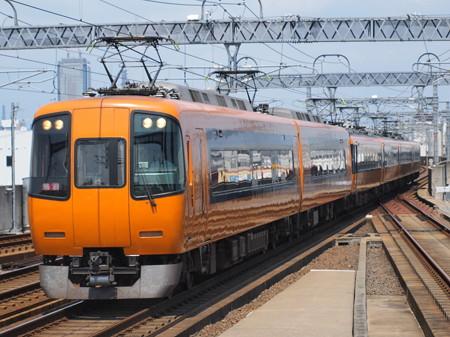 近鉄22000系名伊乙特急 近鉄名古屋線八田駅02