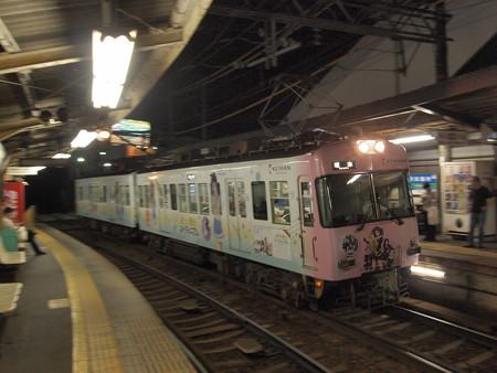 京阪600形 石山坂本線京阪膳所駅01