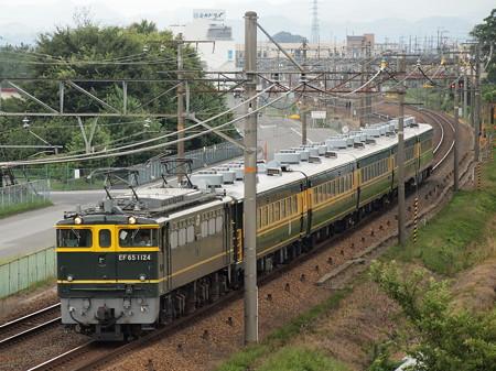 EF65 サロンカーなにわ婚活列車 東海道本線河瀬~稲枝01