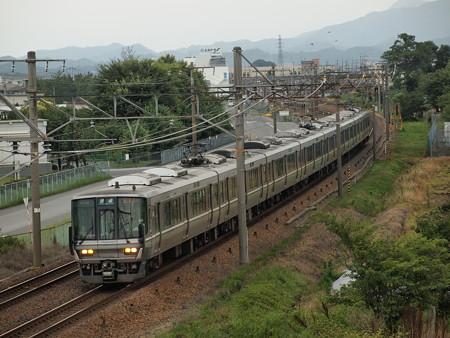 223系普通  東海道本線河瀬~稲枝01